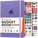 """Clever Fox Budget Book 2.0 (Lavender, Compact (5.3"""" x 7.7"""") - Smaller Than A5)"""