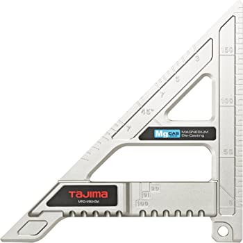 タジマ 丸鋸ガイド モバイル 90-45 マグネシウム 長さ200mm MRG-M9045M