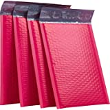 """XCGS 8.5x12"""" Poly Bubble Mailer Pack of 25#2 Pink Padded Bubble Envelope Mailing Bags"""