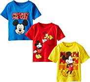 Disney Boys' Mickey Mouse 3-Pack T-Shirts