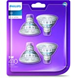 Philips LED Classic MR16 Spot (5W, Colour Rendering Index 80, 60 degree beam angle) - Cool White