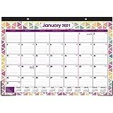 """2020-2021 Desk Calendar - Large Desk/Wall Calendar 2020-2021, 22"""" x 16.8"""", Jan 2020 - June 2021, 18 Months Planning, Large Ru"""