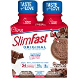 SlimFast Original - Weight Loss Meal Replacement Shakes - 10g of Protein & 5g of Fiber - Plus 24 Vitamins & Minerals per Serv