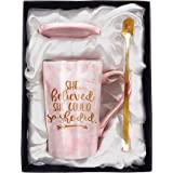 Tom Boy Congratulations Gifts and Graduation Gifts For Her,She Believed She Could So She Did Mug,Spiritual Inspiritional Gift