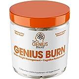 The Genius Brand Genius Burn - Safe and Effective Cognitive Enhancing Thermogenic Capsules, 60 capsules