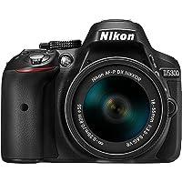 Nikon D5300 AF-P 18-55 VR Lens Kit Black D5300LKP18-55