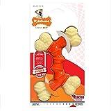 Nylabone Dura Chew Souper Bacon Flavored Double Bone Dog Chew Toy