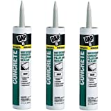 Dap 18021 Concrete and Mortar Watertight Filler and Sealant - Gray 10.1-oz Cartridge (18096). Sold as 3 Pack