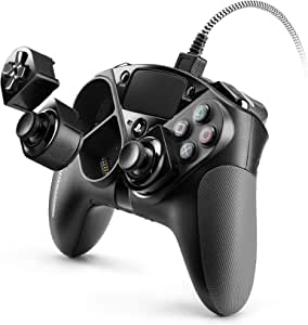 【PlayStation4 公式ライセンス商品】 Thrustmaster eSwap Pro Controller PS4 コントローラー キー配置/割当のカスタマイズ可能 ゲームパッド PC 対応 【日本正規代理店保証品】 4160729
