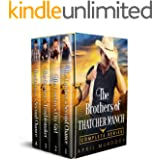 The Brothers of Thatcher Ranch Complete Series: Sweet and Clean Cowboy Romance (Sweet Romance Boxed Sets Book 1)