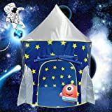 Magictent Rocket Ship Play Tent for Boys,Kids Spaceship Toys,Astronaut Space Ship Tents for Children's House,Foldable Gifts P