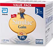 Abbott Similac EyeQ Plus 2'-FL Stage 3 Toddler Milk Formula, Value Pack 2.45 Kg
