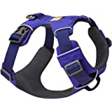 RUFFWEAR - Front Range Dog Harness, Reflective and Padded Harness for Training and Everyday, Huckleberry Blue, Small