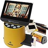 Wolverine フィルムスキャナー 35mmフィルム ネガ デジタル化 スライドフィルム 2000万画素 4.3インチ大型モニタ搭載 ネガスキャナー apsフィルムスキャナー 8mmフィルム SD保存 F2DTITAN