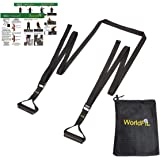 WorldFit ISO Trainer - Isometric Exercise for Strength Training, Stretching, Yoga, Pilates - a USA Company