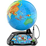 LeapFrog Magic Adventures Globe - Interactive Educational Children's Globe with LCD Screen and BBC Videos - 605403, Multicolo