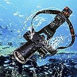 Goldengulf Cree L2 Aluminum Waterproof Diving Swimming Hiking Camping Hunting Fishing Headlamp Underwater 1800 Lumen Safety H