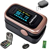 Oxygen Saturation Monitor, Pulse Oximeter Fingertip, Oxygen Monitor, O2 Saturation Monitor, OLED Portable Oximetry with Batte