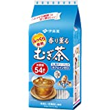 伊藤園 香り薫るむぎ茶 ティーバッグ 54袋 ×10本 デカフェ・ノンカフェイン