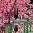Agirlgle Large Wind Bell Wind Chimes Outdoor Indoor HWMC Heroic Windbell, 24-Inch Garden Wind Chimes Amazing Grace for Patio