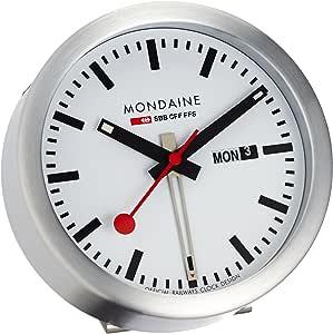 MONDAINE (モンディーン) 掛け時計 置き時計 兼用 ミニクロック A993.MCAL.16SBB