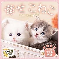 【Amazon.co.jp限定】ましかく子猫カレンダー 幸せこねこ(特典:石橋絵氏撮影「PC壁紙・バーチャル背景に使える…