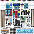 SunFounder Raspberry Pi Starter Kit for Raspberry Pi 4B 3 B+ 400, 491-Page Online Tutorials, Python C Java Scratch Code, 65 P