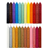 24 Pieces Antique Sealing Wax Sticks with Wick For Postage Letter Retro Vintage Wax Seal Stamp Assorted Colors