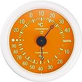 タニタ 温湿度計 温度 湿度 アナログ オレンジ TT-515 OR 壁掛け