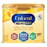 Enfamil NeuroPro Baby Formula, Brain and Immune Support with Omega-3 DHA, Iron & Prebiotics, Infant formula Inspired by Breas