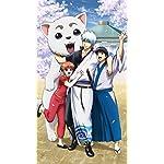 銀魂 iPhone SE/8/7/6s(750×1334)壁紙 銀時,新八,神楽,定春
