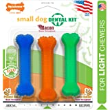 Nylabone FlexiChew Dog Dental Pack Bacon & Peanut Butter Flavor X-Small/Petite - Up to 15 lbs.