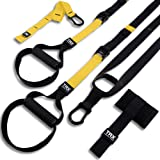 TRX ALL-IN-ONE Suspension Training: Bodyweight Resistance System | Full Body Workouts for Home, Travel, and Outdoors | Build