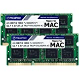 Timetec Hynix IC 8GB KIT(2x4GB) Compatible for Apple DDR3 1067MHz/1066MHz PC3-8500 SODIMM RAM Upgrade for Late 2008, Early/Mi