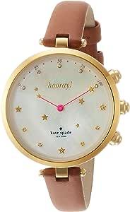 [ケイト・スペード ニューヨーク] 腕時計 HOLLAND SLIM HYBRID ハイブリッドスマートウォッチ KST23203 レディース 正規輸入品