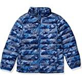 Amazon Essentials Boy's Lightweight Water-Resistant Packable Puffer Jacket