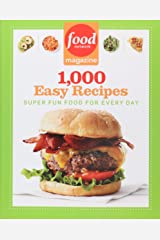 Food Network Magazine 1,000 Easy Recipes: Super Fun Food for Every Day Paperback