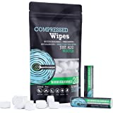 Surviveware Compressed Wipes - Compact Towels - Toilet Paper Tablets - 200 Pieces