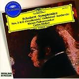 シューベルト:交響曲第8番《未完成》&第3番