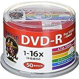 HI-DISC 録画用DVD-R HDDR12JCP50 (CPRM対応/16倍速/50枚)