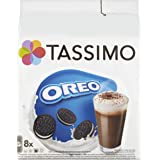 Tassimo Oreo Hot Chocolate Pods (Case of 5, Total 80 pods, 40 Servings)
