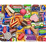 Springbok Puzzles - Snack Treats - 500 Piece Jigsaw Puzzle - Large 23.5 Inches by 18 Inches Puzzle - Made in USA - Unique Cut