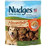 Nudges Natural Dog Treats Homestyle Made with Real Chicken, Peas, and Carrots