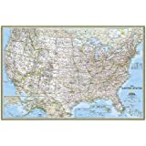United States Classic Poster Size Map: Wall Maps U.s. (Natio…
