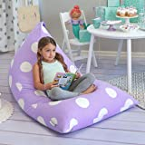 Stuffed Animal Storage Bean Bag Chair - Stuff 'n Sit Toy Bag Floor Lounger for Kids, Teens and Adult Extra Large 200L/ 196.8l