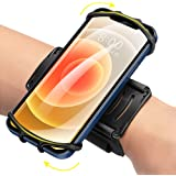 Newppon 360° Rotatable Phone Wristband : for iPhone 12 Pro Mini SE 2021 11 11 Pro Xs XR X 8 7 Plus, Fits All 4-6.7 Inch Smart