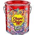 Chupa Chups Best of Minis Tin, 150 Lollipops, 1650 g