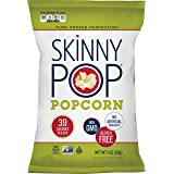 SkinnyPop Original Popped Popcorn, 12-Pack of 1.0oz Individual Bags, Gluten Free Popcorn, Non-GMO and Vegan Snack, No Artific