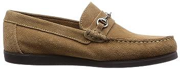 Suede Bit Loafer 51-32-0061-699: Beige