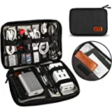 Travel Cable Organizer Bag, T Tersely Travel Gadget Cables Electronics Accessories Organizer Bag,Portable Tech Gear Phone Acc